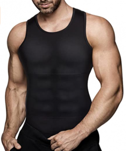 Eleady Compression Shirt Slimming Body Shaper Vest